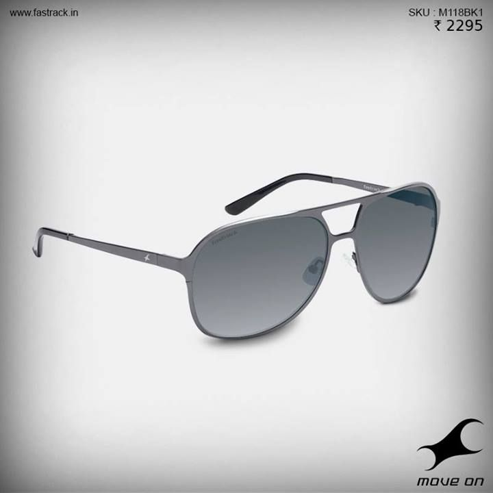 Make sure you're high on style! Check out the new sunglasses from Fastrack! #Metal #Sunglasses #Summer #Fashion #Fastrack #Design