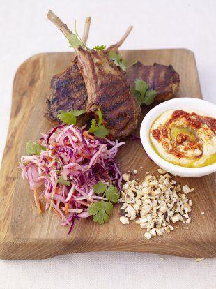 Grilled Moroccan Lamb Chops | Lamb Recipes | Jamie Oliver Recipes