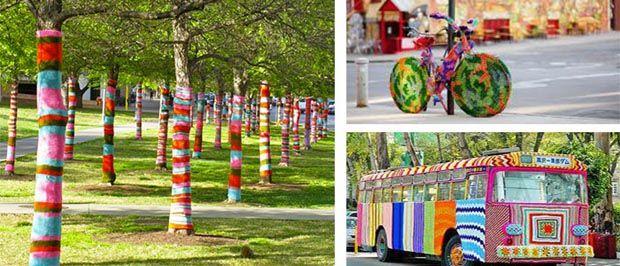 *** Rendez-vous : la journée mondiale du tricot, Esprit Cabane, idees creatives et ecologiques