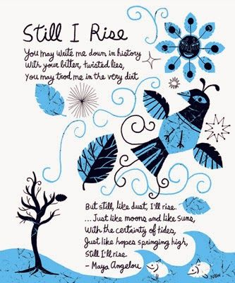 Katherine Philips and Maya Angelou Poem Analysis: Still I Rise by Maya Angelou