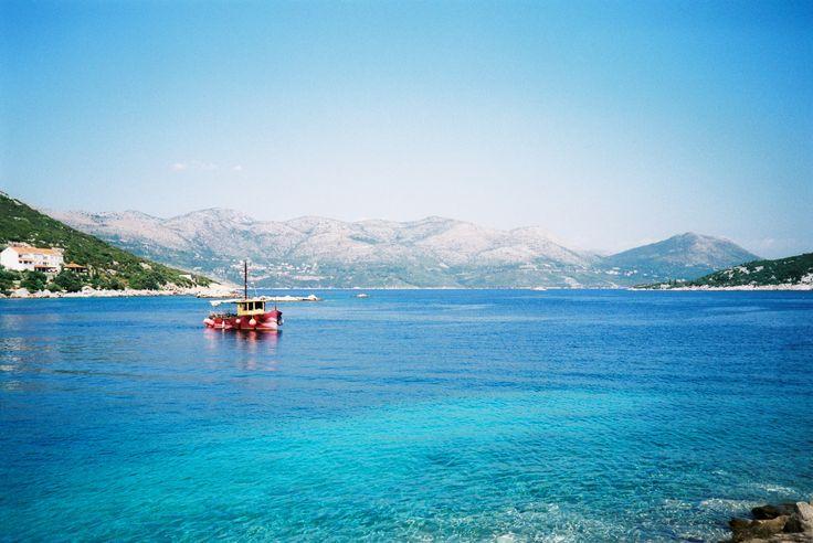 Sipan Island - one of Elafiti Islands, a great destination for adventure holiday in Croatia