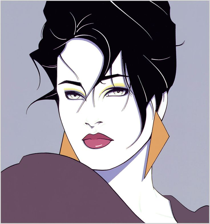 It seemed like Patrick Nagel's artwork was everywhere back in the '80s.