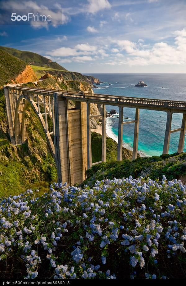 Bixby Bridge, Big Sur, California by Maria Draper | 500px Prime