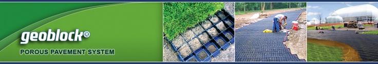 Version 2 for a driveway -   Geoblock® Porous Pavement - Presto Geosystems