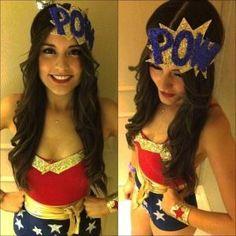 DIY Superhero Costume : DIY - Super Hero POW! Headpiece :DIY Halloween DIY Costumes by treasurebox