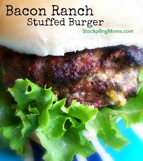 ... grilled stuffed pizza burgers recipes dishmaps grilled stuffed pizza