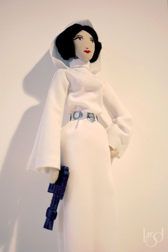 Princess Leia Star Wars Rag Doll Collectible Toy Game by LocoGlam
