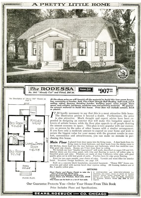 Sears kit home from the 1926 i still own the one my great for Catalog houses