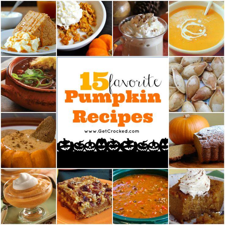 15 Yummy Pumpkin Recipes for your CROCK POT!