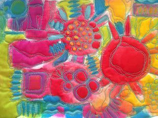 """I couldn't be more excited to open this new ONLINE CLASS and celebrate the techniques and projectsin my brand new book,""""The Art of Whimsical Stitching"""". Come and stitch your art out and sign up rig"""