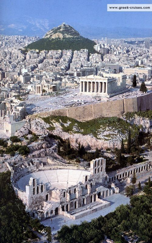 Check out the ruins in Athens, Greece