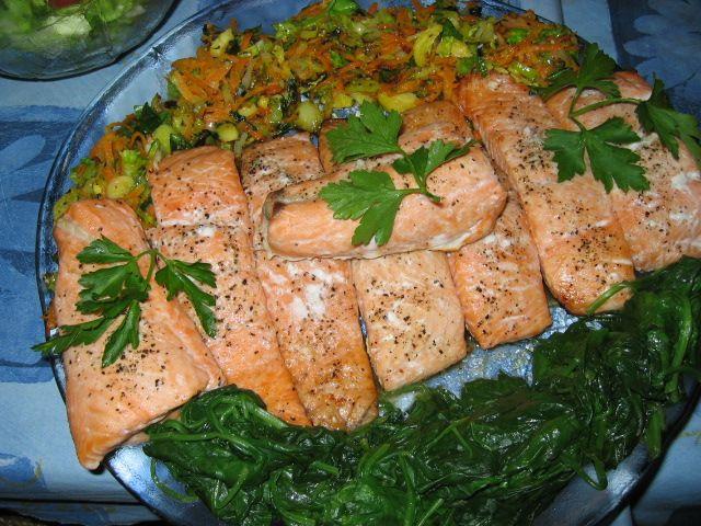 Laks i ovn - helside eller portionsstykker