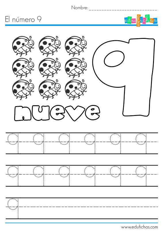 los nmeros en preescolar - photo #9