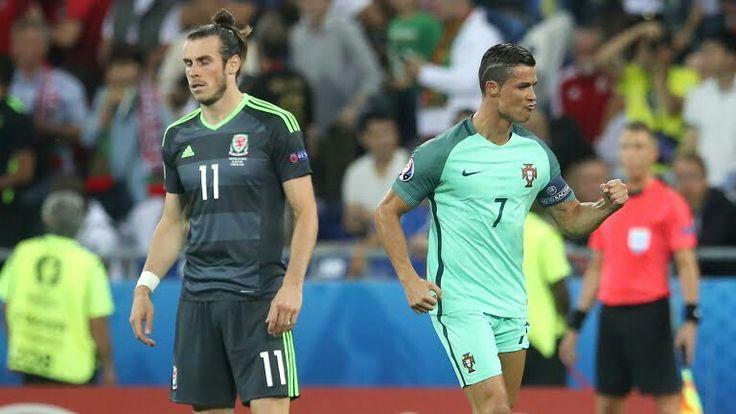 Portugal defeats Wales in Euros 2016 Final! #GarethBale #CR7