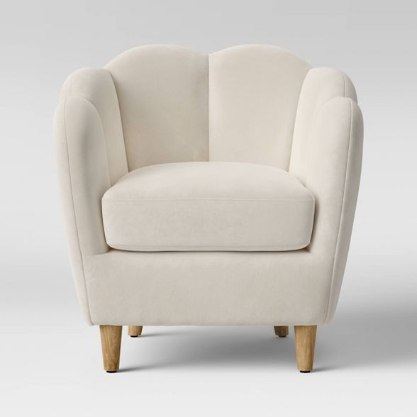 Waterville Upholstered Accent Chair Floral Opalhouse