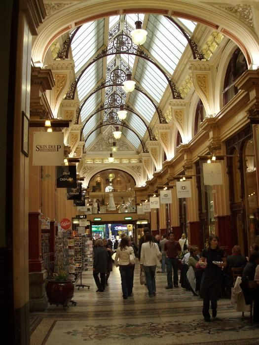 shops in an historic shopping arcade - free stock photo from www.freeimages.co.uk