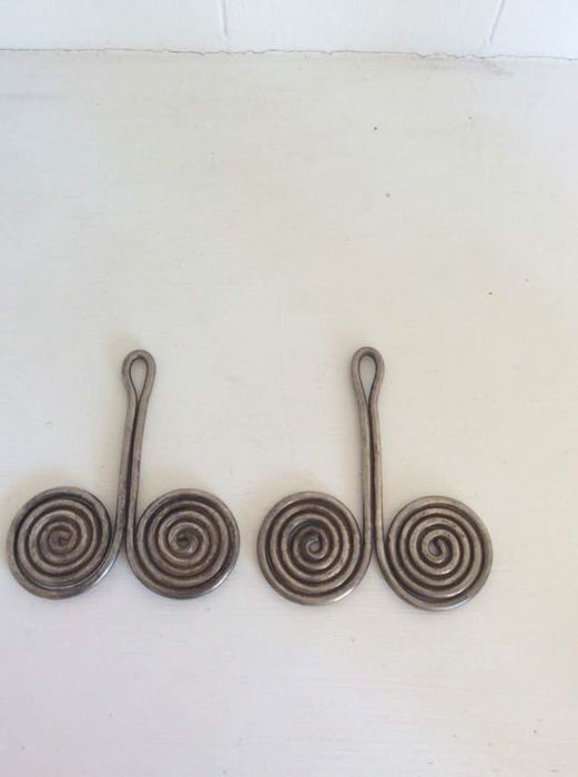 Catawiki online auction house: Earrings Padung Padung - Batak Karo tribe…