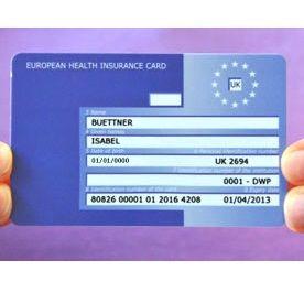 FREE European Health Insurance Card - Gratisfaction UK Freebies #freestuff #freebies #travel