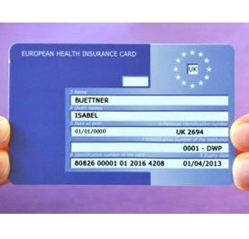FREE European Health Insurance Card - Gratisfaction UK Freebies #freestuff #freebies #travel