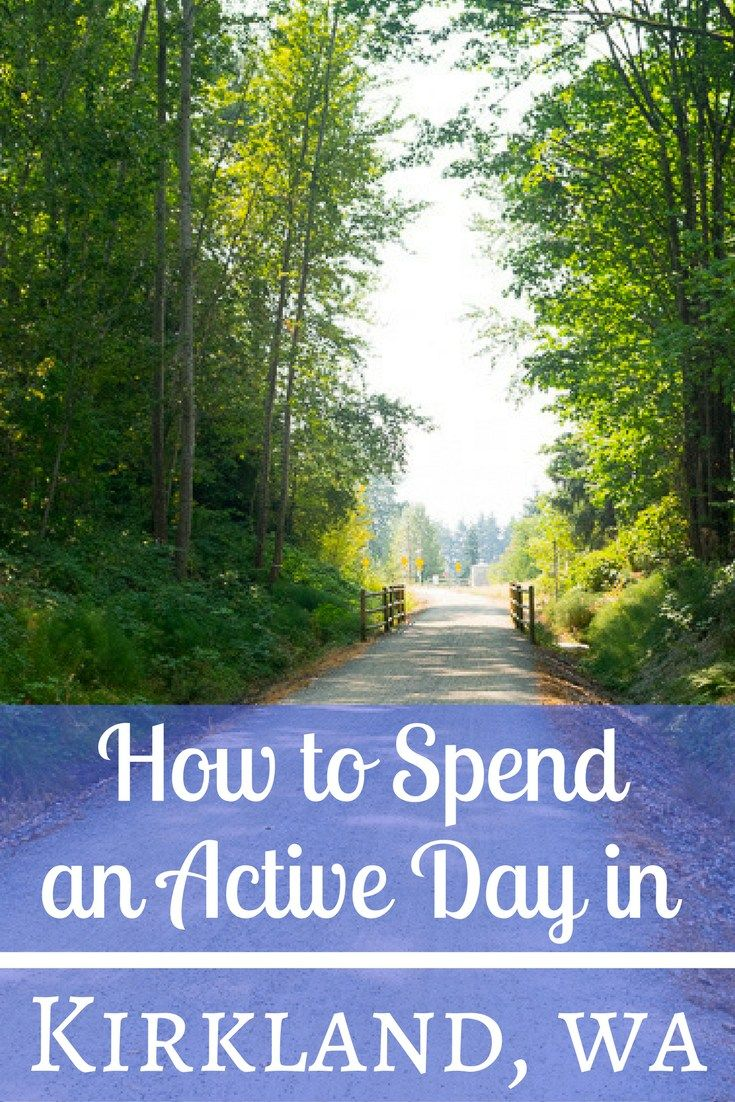 From outdoor activities to art, the city of Kirkland is full of things to do. Here's how to spend an active day in Kirkland, Washington.
