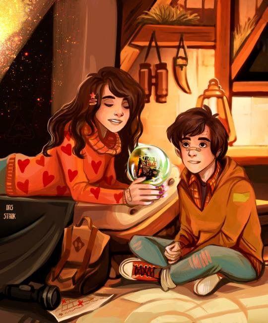 Dipper and Mabel.