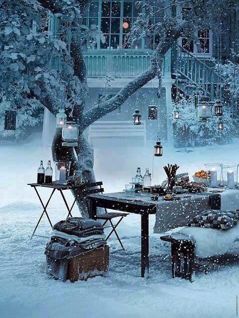 picnic in the snow...Stockholm