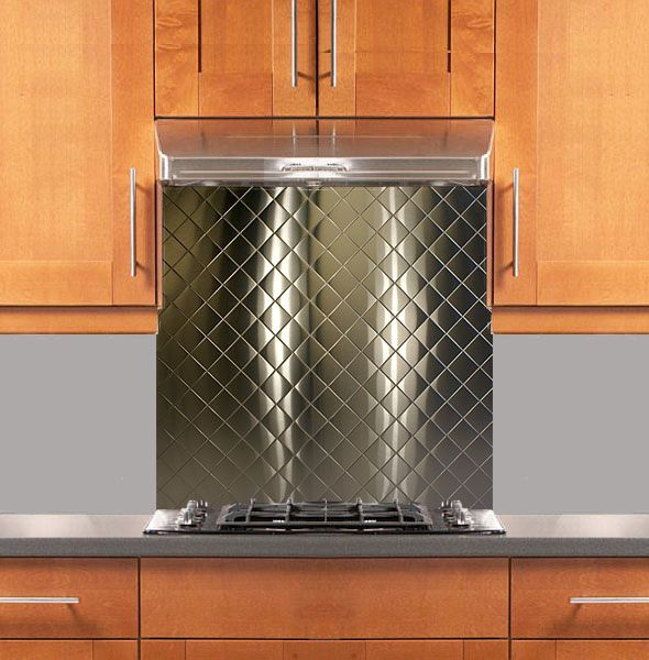 Stainless Supply | Stainless Steel Backsplashes