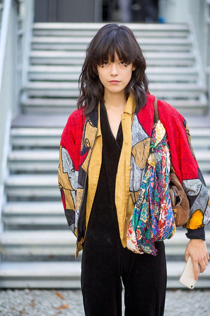 Awe inspiring pinterest the world39s catalog of ideas updo hairstyles - The Paris Way Fashion Week Street Style