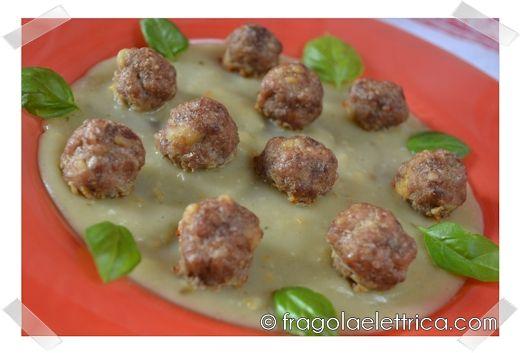 POLPETTINE AL FORNO fragolaelettrica.com Le ricette di Ennio Zaccariello #Ricetta