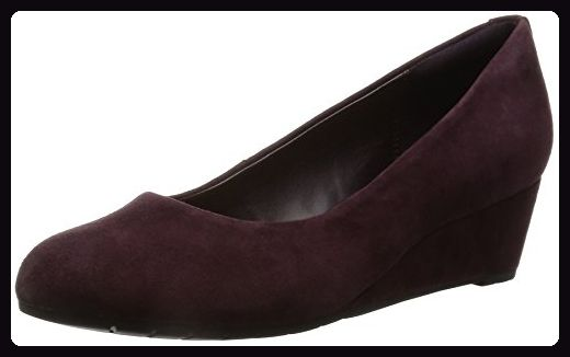 Clarks Damen Modern-Elegant Vendra Bloom Veloursleder Halbschuhe Größe 39½ - Sandalen für frauen (*Partner-Link)