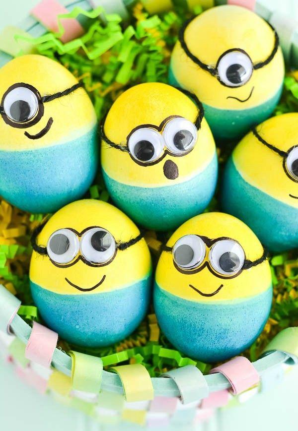 Idées cool d'oeufs de Pâques que les enfants vont devenir fous