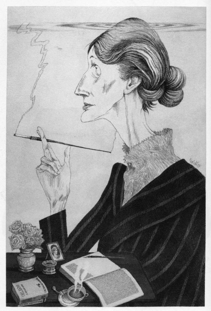 Tullio Pericoli  Virginia Woolf
