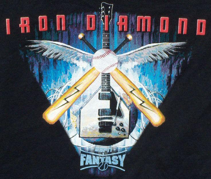 ESPN Fantasy Baseball T-shirt 3XL League Champion 2007 #Gildan #GraphicTee