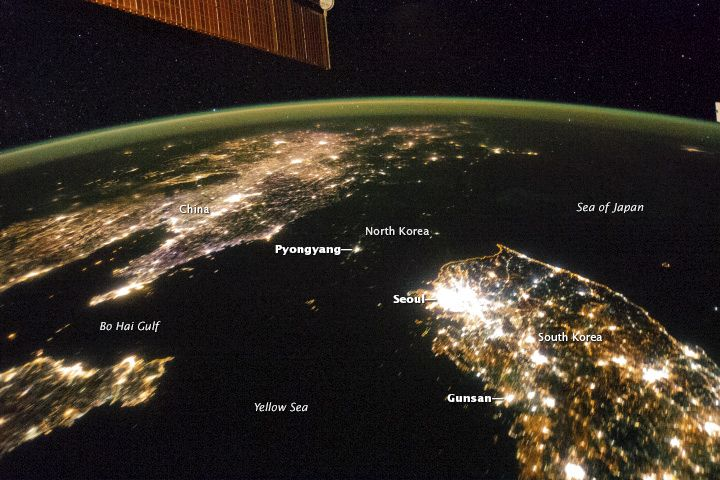 Since the mid-1990s, when fuel stopped flowing from the defunct Soviet Union to North Korea, the famously hermetic country has descended into darkness. #TotalitarianRule