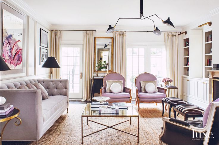 Design & Décor Inspiration | At Home With: Designer Wendy Labrum, Chicago -- this slideshow presentation reveals a glimpse into the French inspired home