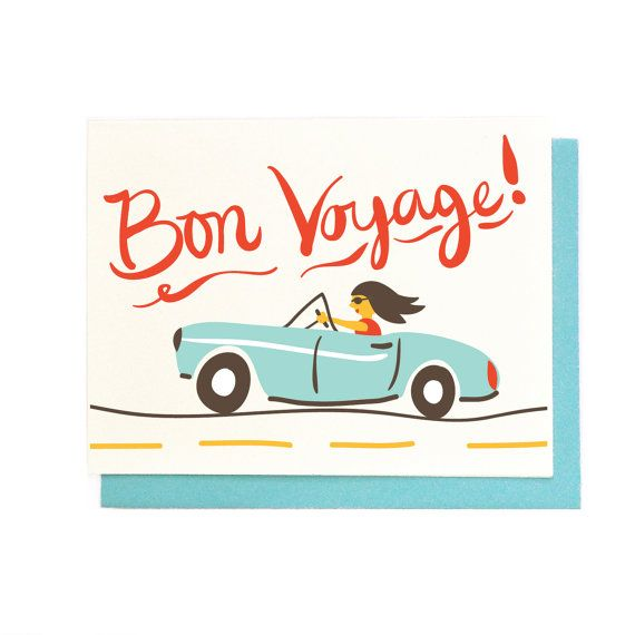 17 Best Ideas About Bon Voyage Cards On Pinterest