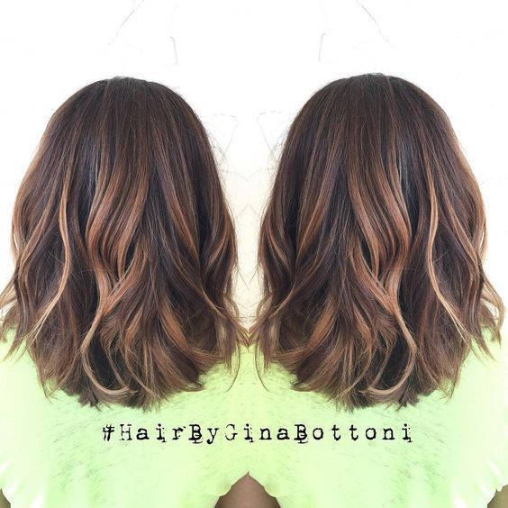 25+ Best Ideas About Medium Hair Highlights On Pinterest