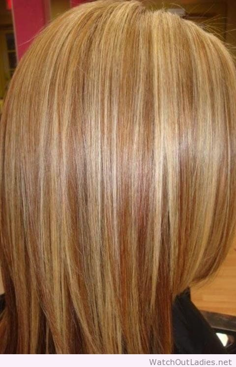 Amaying sandy blonde hair with highlights