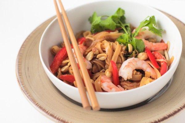 Easy Shrimp Pad Thai Recipe   Food Recipes   Pinterest