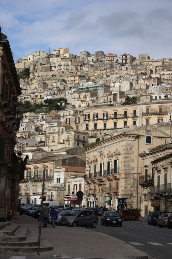 Modica, Sicily - famous for hot chocolate!