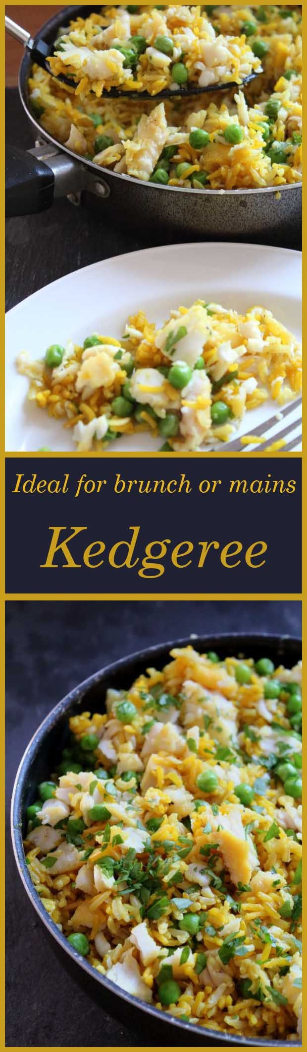 The classic Kedgeree recipe, low cost, low calorie and low fat version. Perfect for brunch or for mains.