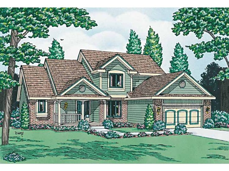 Eplans Cottage House Plan Easy Living 1996 Square Feet