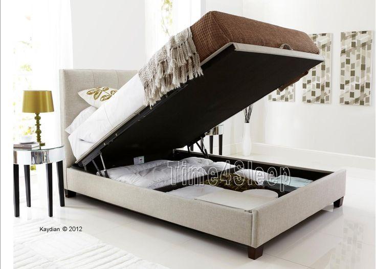 Kaydian Walkworth Ottoman Storage Bed - Oatmeal Fabric - Ottoman Beds - Storage  Beds - Beds - 10 Best Images About Bed Storage On Pinterest Ottoman Storage