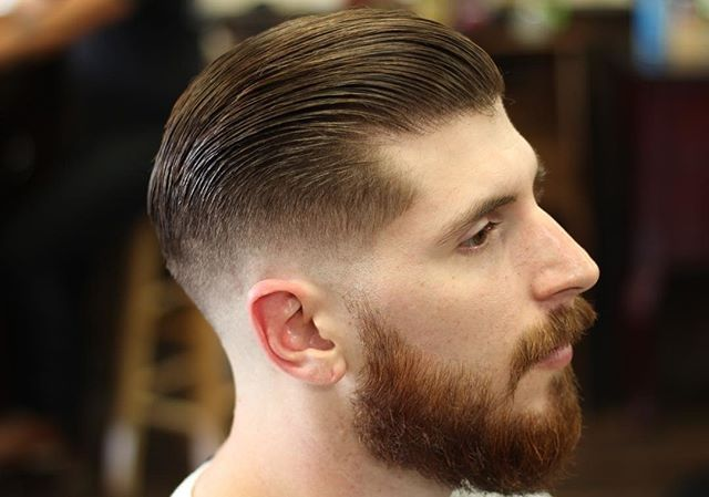 Barber Rob Salas Showing Us His Impressive Barbering Skills Hair Was Styled With Suavecito Pomade Suave Hair Pomade Cool Hairstyles For Men Mens Hairstyles