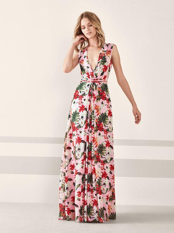 Vestidos De Fiesta Pronovias 2020 Moda En Pasarela Vestidos De Flores Largo Vestidos De Fiesta Vestido Largo 2019