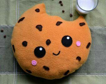 Food Pillows, Cute Pillows, Diy Pillows, Diy Kawaii, Sewing Crafts, Sewing Projects, Cute Stuffed Animals, Cute Plush, Decorative Cushions