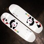 enjoi skateboards, Tranny Panda 8.75 x 32.1 x 14.75-inch wheelbase.