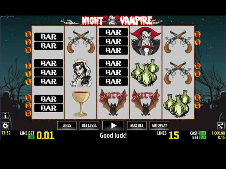 Night Vampire free online machine is set in five reels and three rows classical formation. There are up to fifteen paylines, that you can utilize but don't let that deter you from exploring many of the hidden gems of this horror story. It is an eternal tale of bloodsucking elegant monsters and all the mythology around them. http://free-slots-no-download.com/worldmatch/5561-night-vampire/
