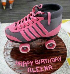 80's (trending) Roller Skate Cake