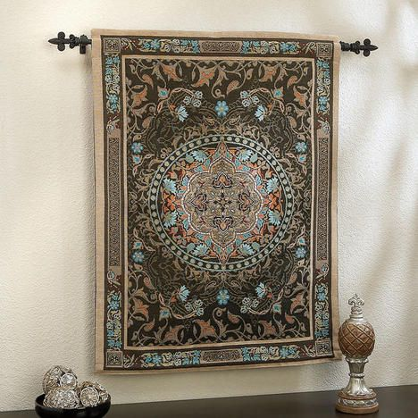 persian reflections tapestry wall hanging set oriental on wall hangings id=70185